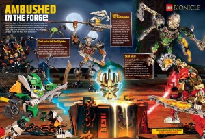 LEGO Club Magazine Juli-August BIONICLE