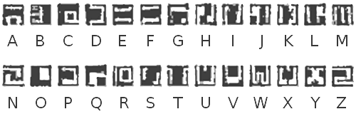Okoto Alphabet