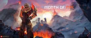 Monat des Feuers