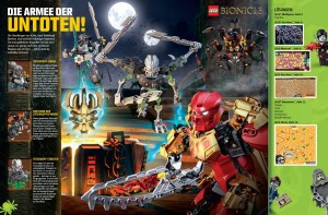 LEGO Club Magazine September-Oktober BIONICLE Deutsch