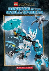 BIONICLE Chapter Book #2: Revenge of the Skull Spiders