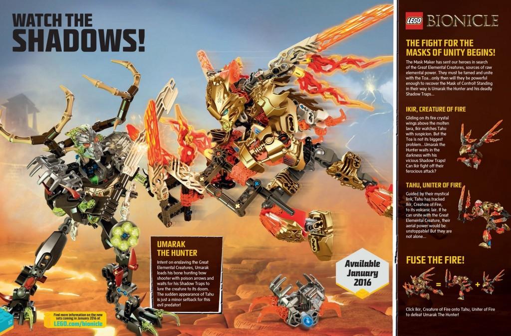 LEGO Club Magazine November-Dezember 2015