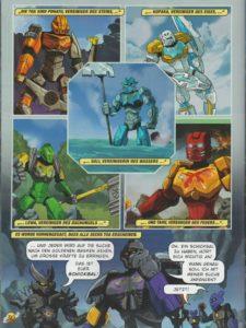BIONICLE Magazin 1 Comic