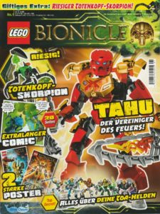 BIONICLE Magazin 1 Cover